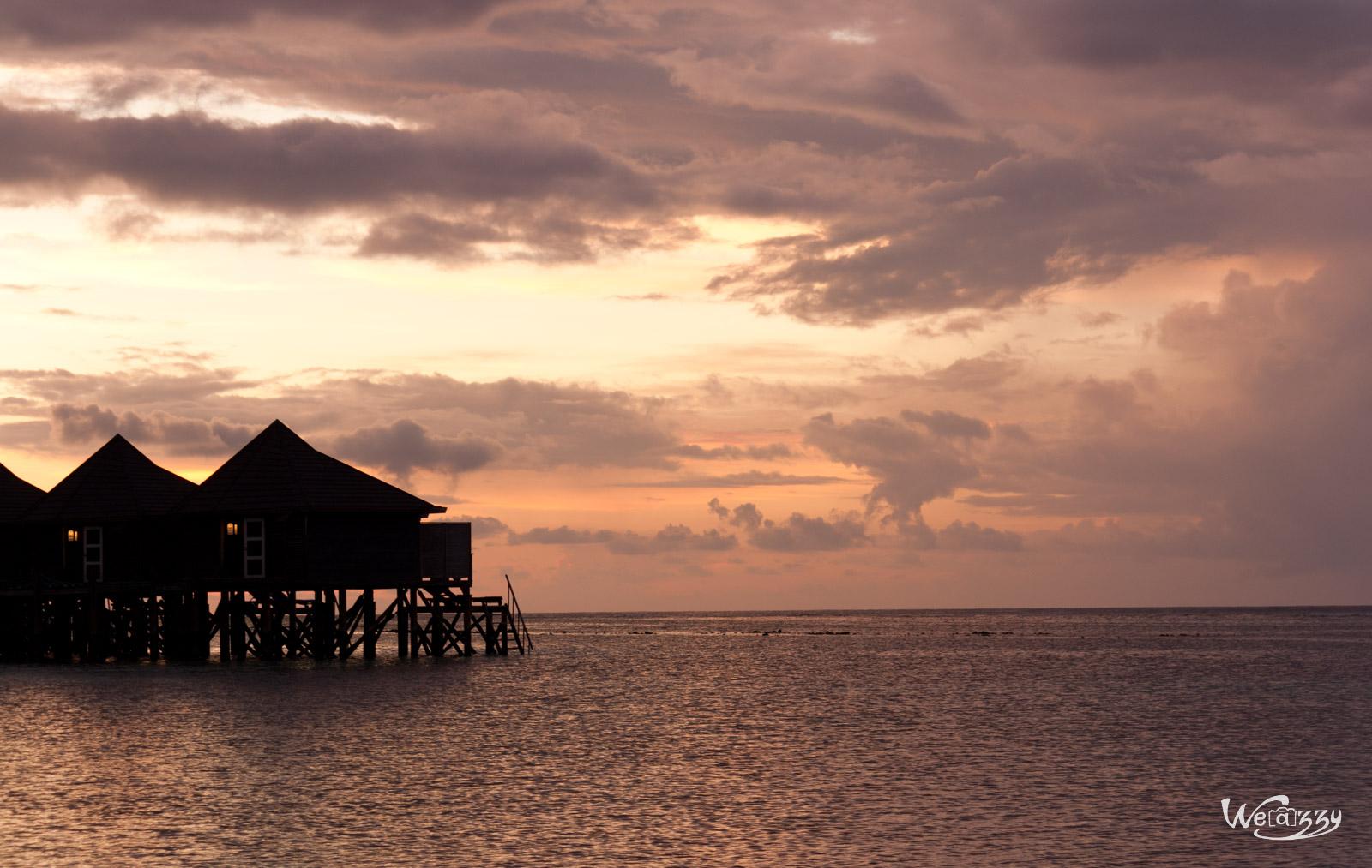 1… 2… 3… Soleil ! C'est lui le roi aux Maldives