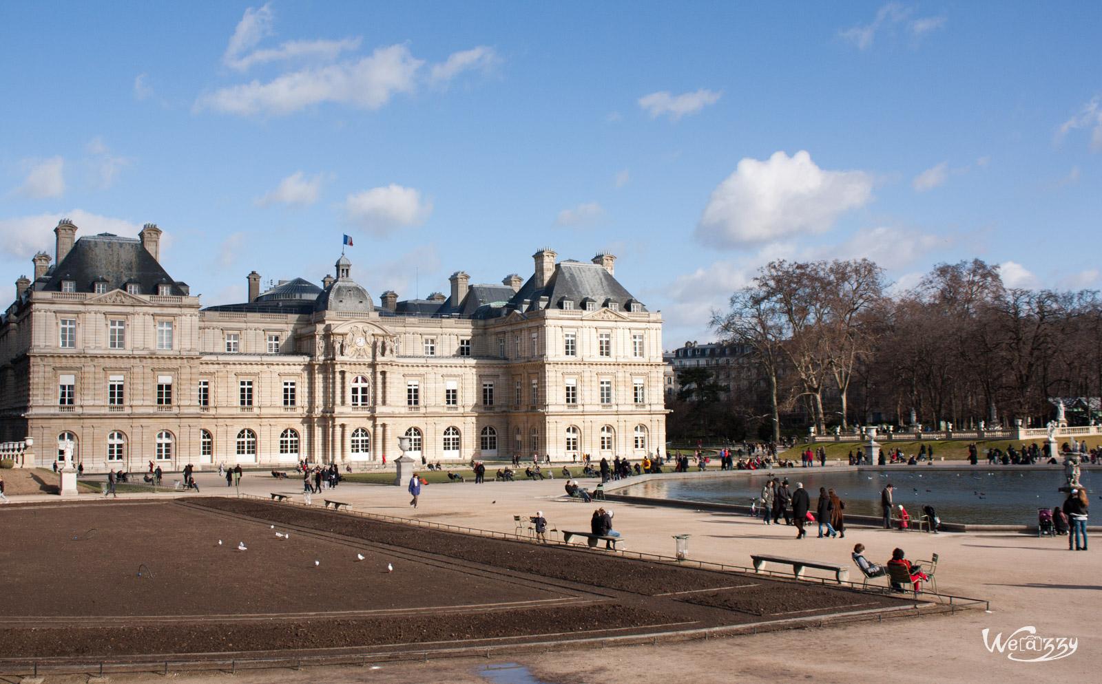 Château et jardins du Luxembourg