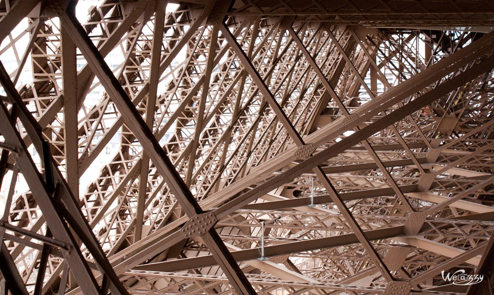 Les entrailles de la Tour Eiffel (bis)