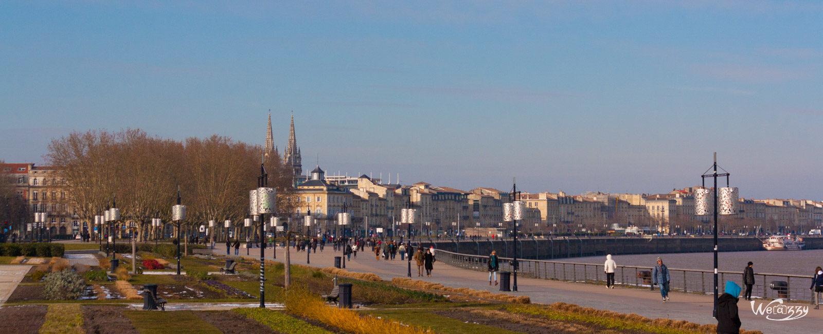 Bordeaux, Hiver, Ville