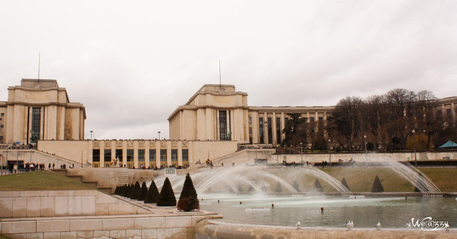 Musée de l'homme & sa fontaine