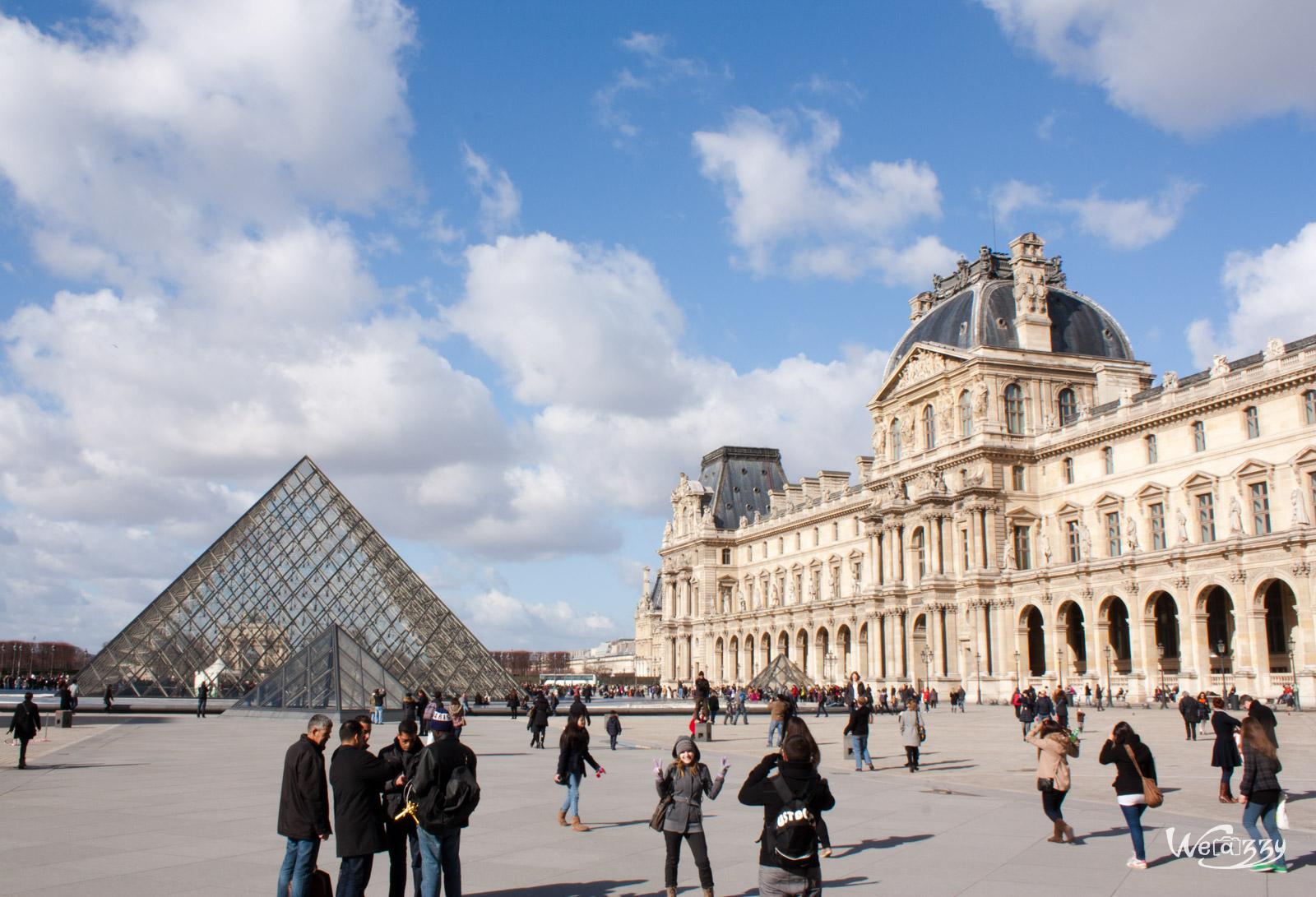 Pyramide du Louvre & Château des Tuileries