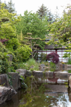 France, Japonnais, Nantes, jardin