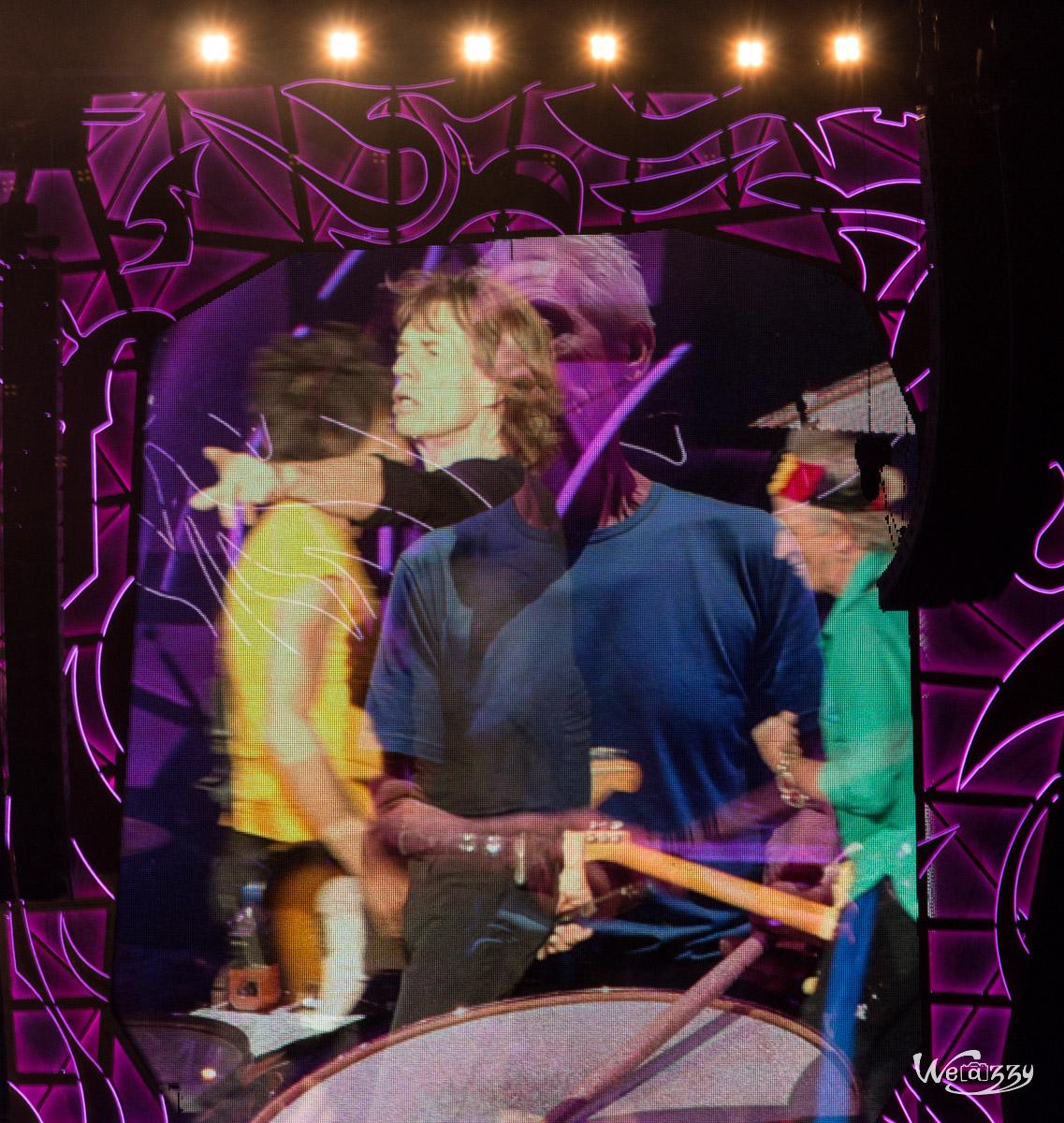 Expérience unique : Voir un concert des Rolling Stones