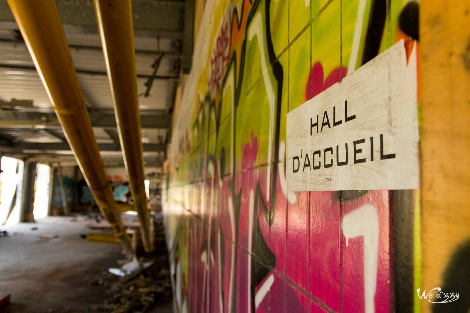 Abattoirs de Nantes – célèbre site urbex – Intérieur