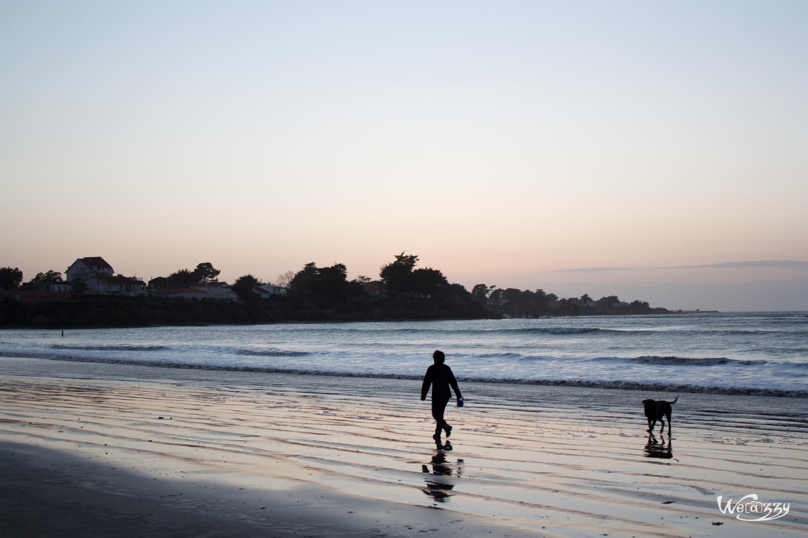 Promeneuse et son chien