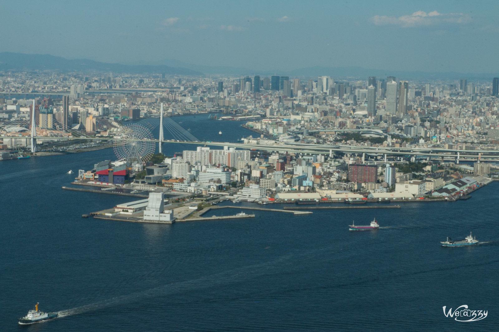 Japon, Osaka, Voyage