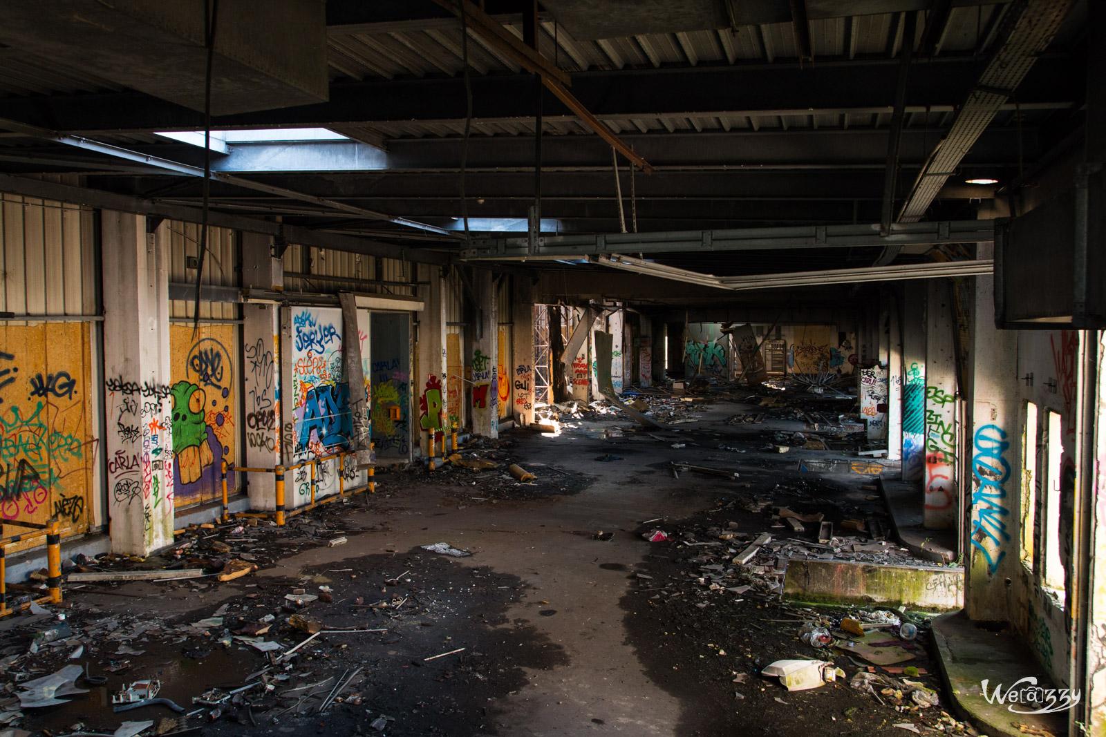 Abattoirs de Nantes – célèbre site urbex – Extérieur