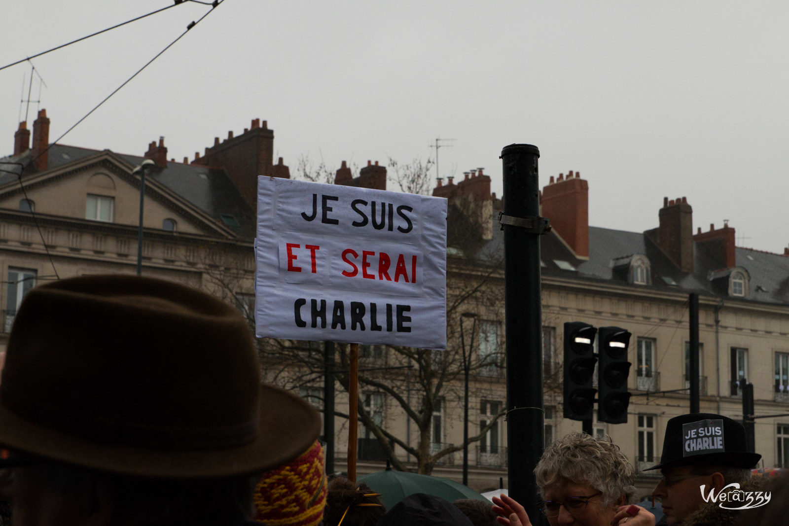 Charlie Hebdo, Nantes, Ville