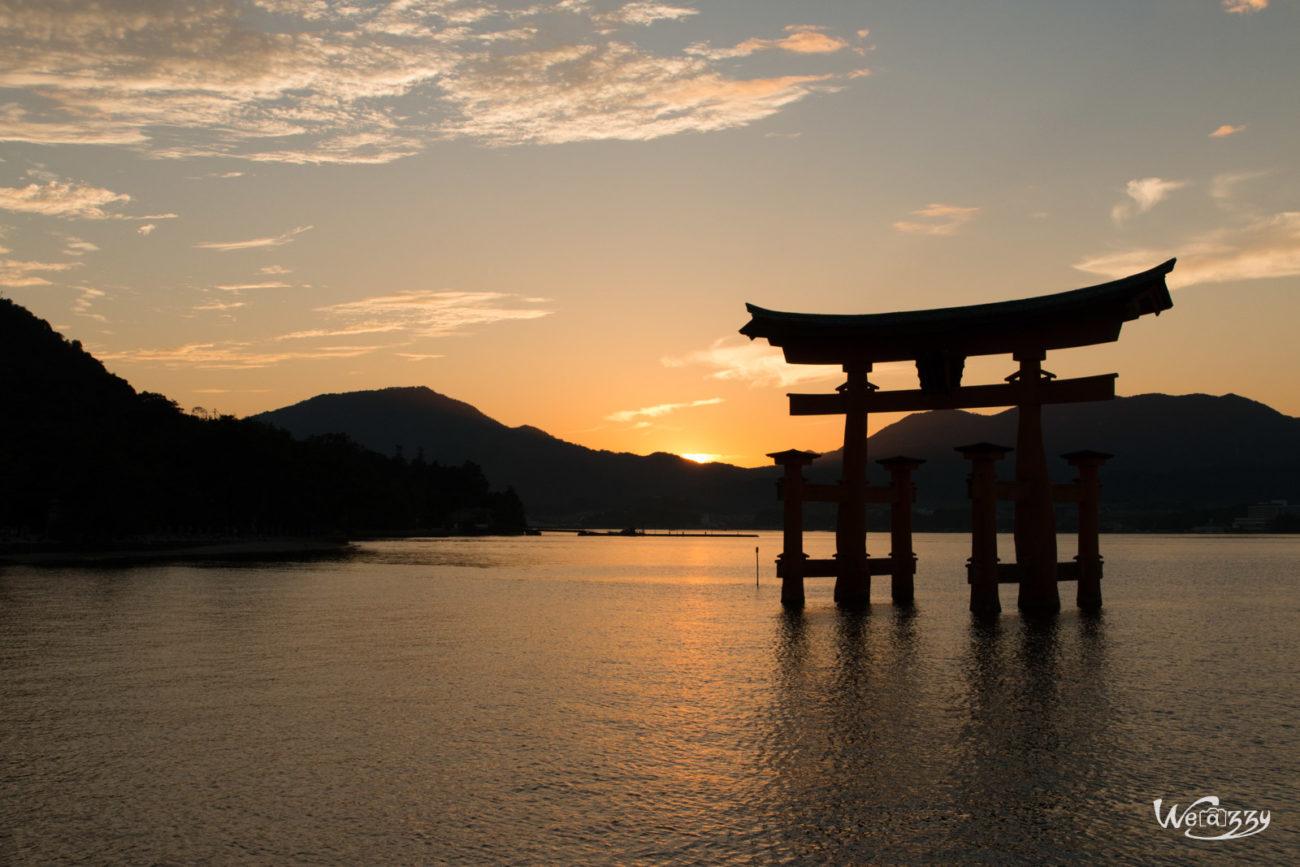 Japon, Miyajima, Voyage