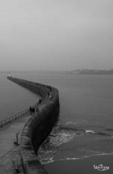 Bretagne, France, Saint-Malo, grande marée