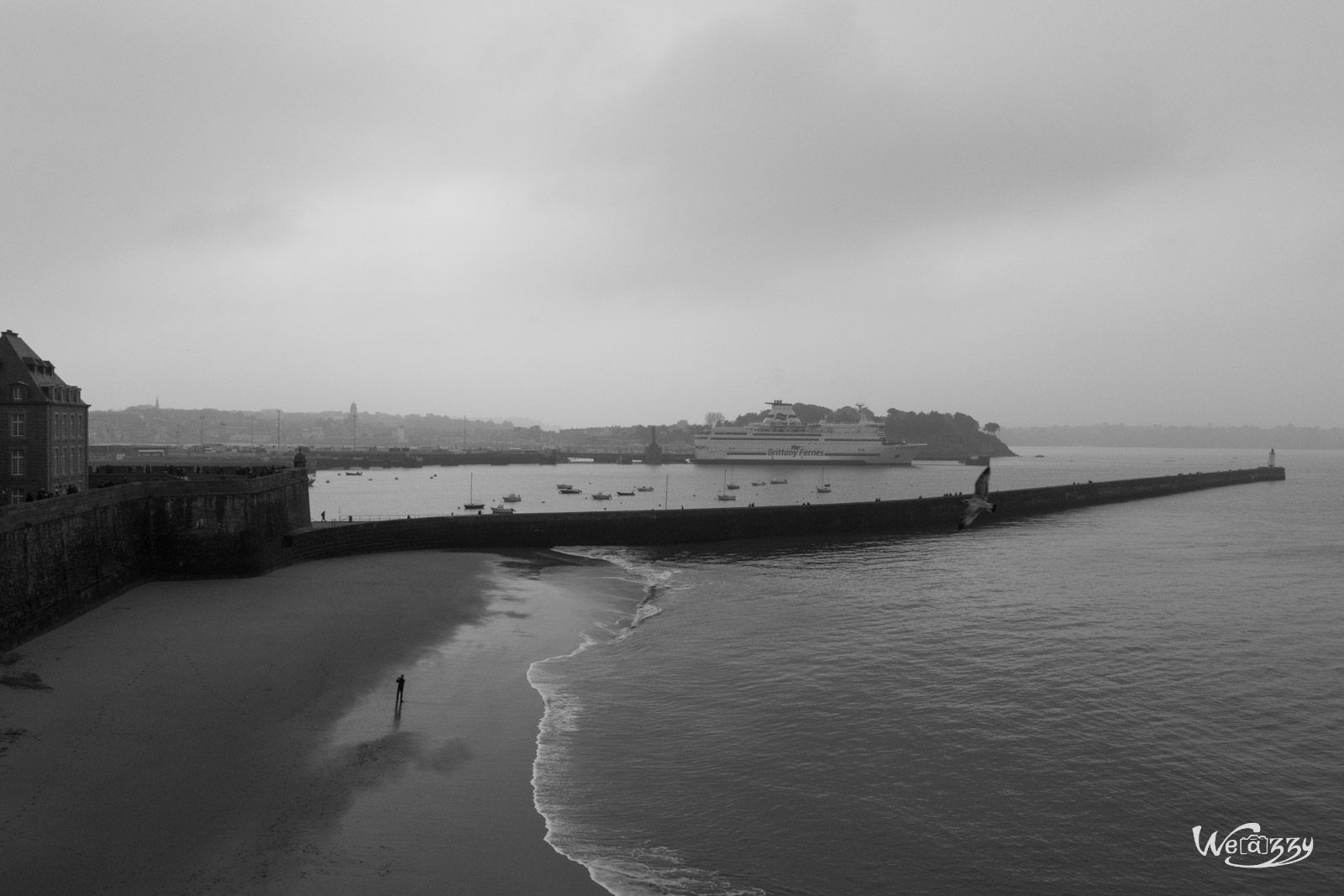 Bretagne, Saint-Malo, grande marée