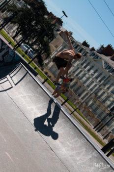 France, Nantes, Skate