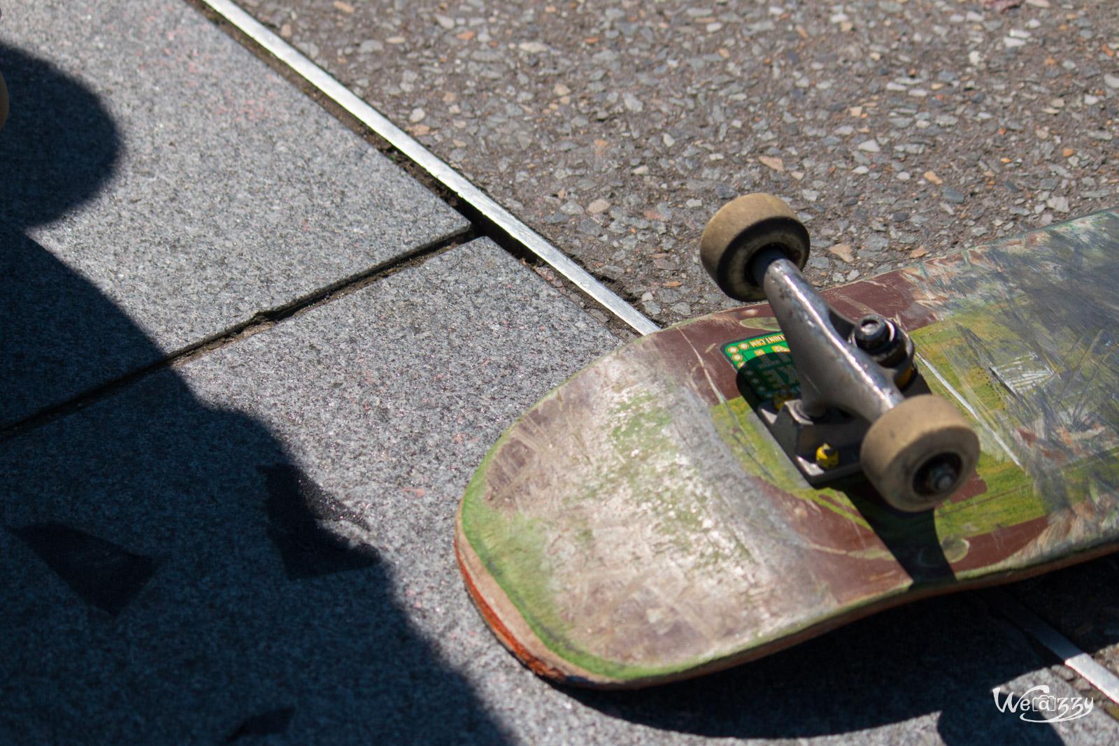 Planche et bitume, session skate à Nantes