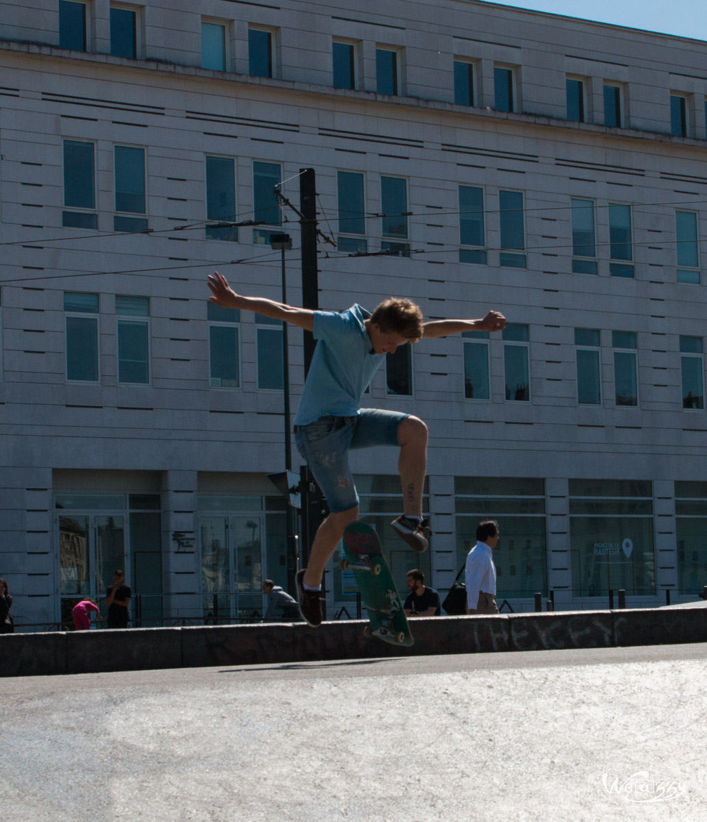 Nantes, Skate