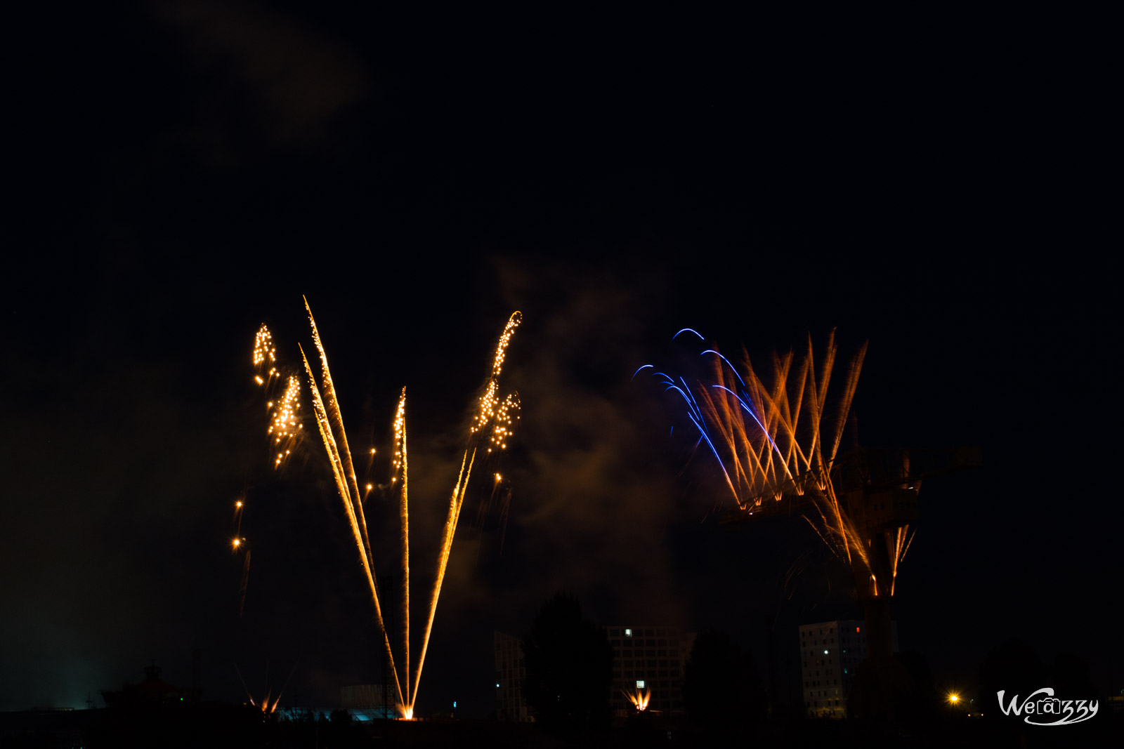 2015, Feu-artifices, Nantes