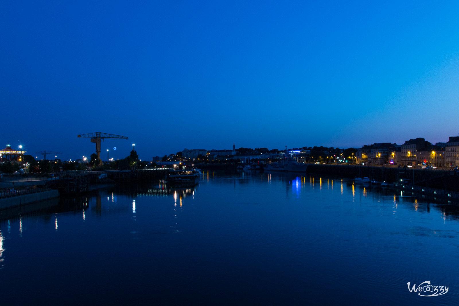 Nantes, Nocturne, Ville