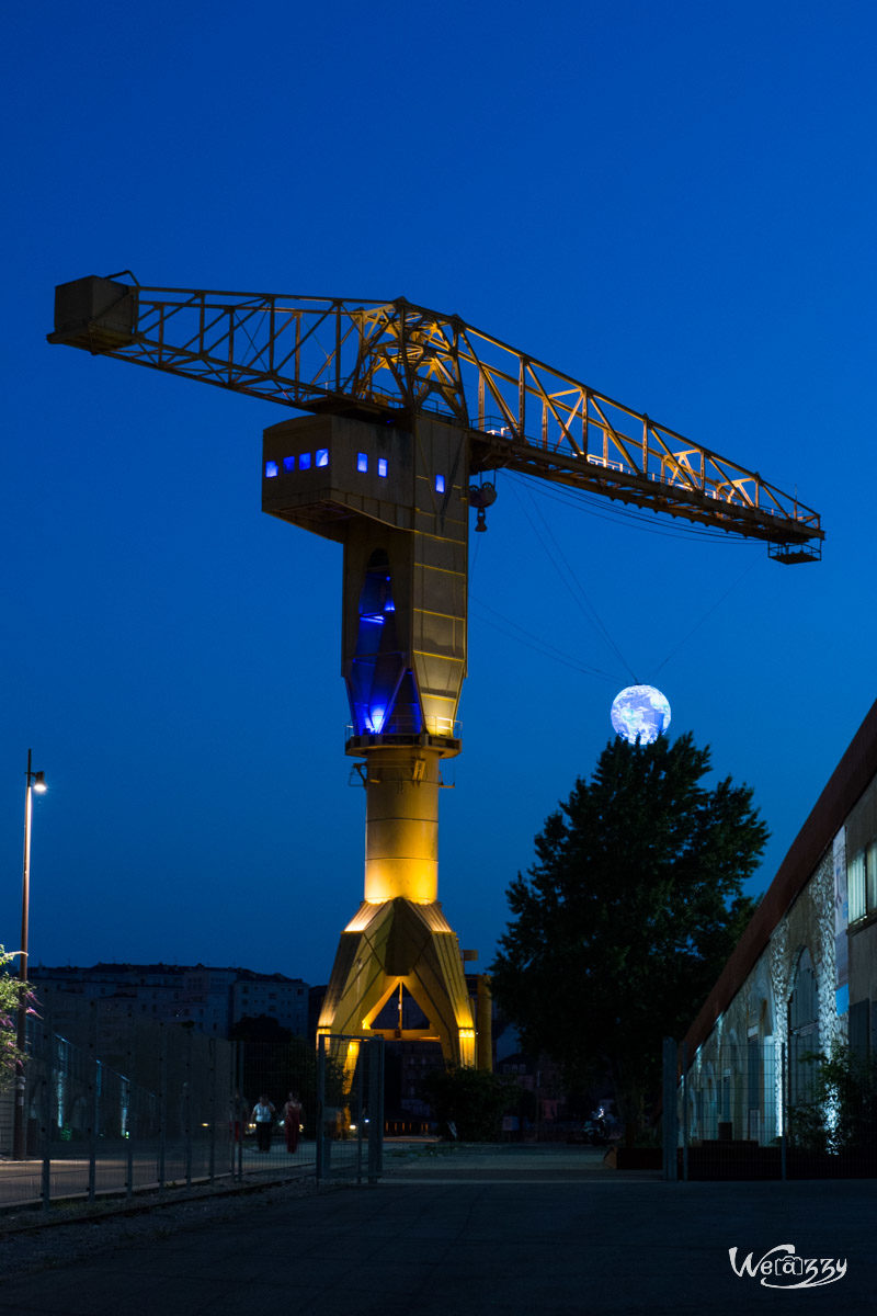 France, Nantes, Nocturne