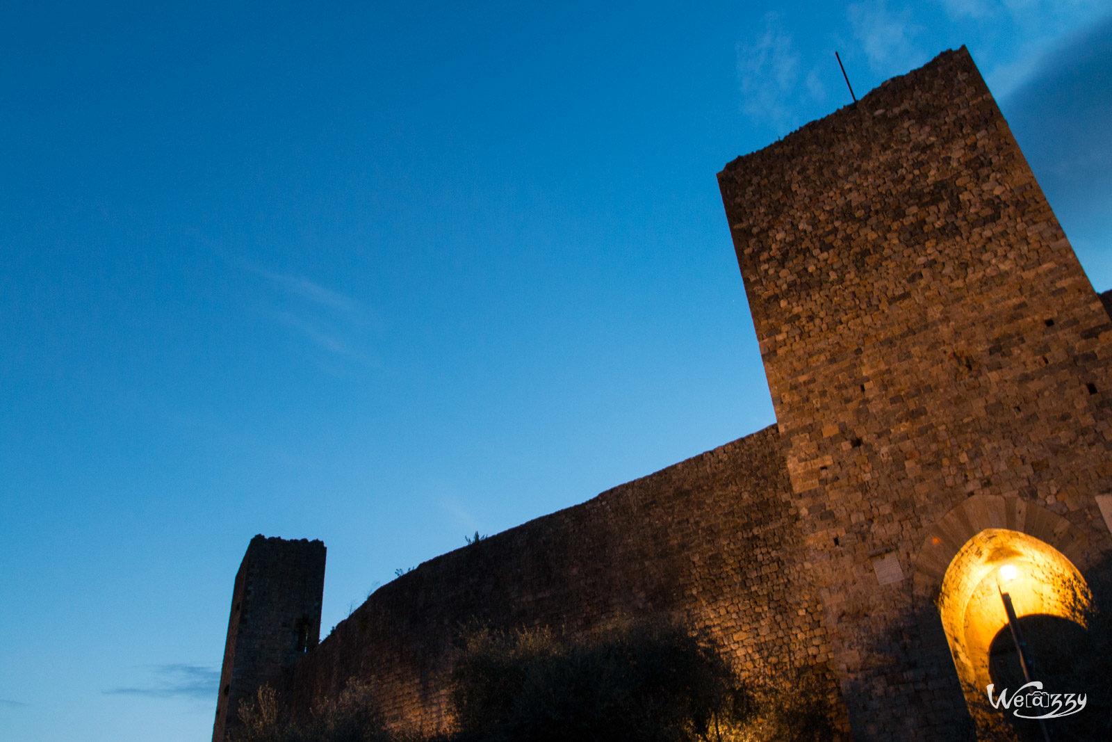 Italie, San Gimigiano & Monteriggioni, Toscane, Voyage