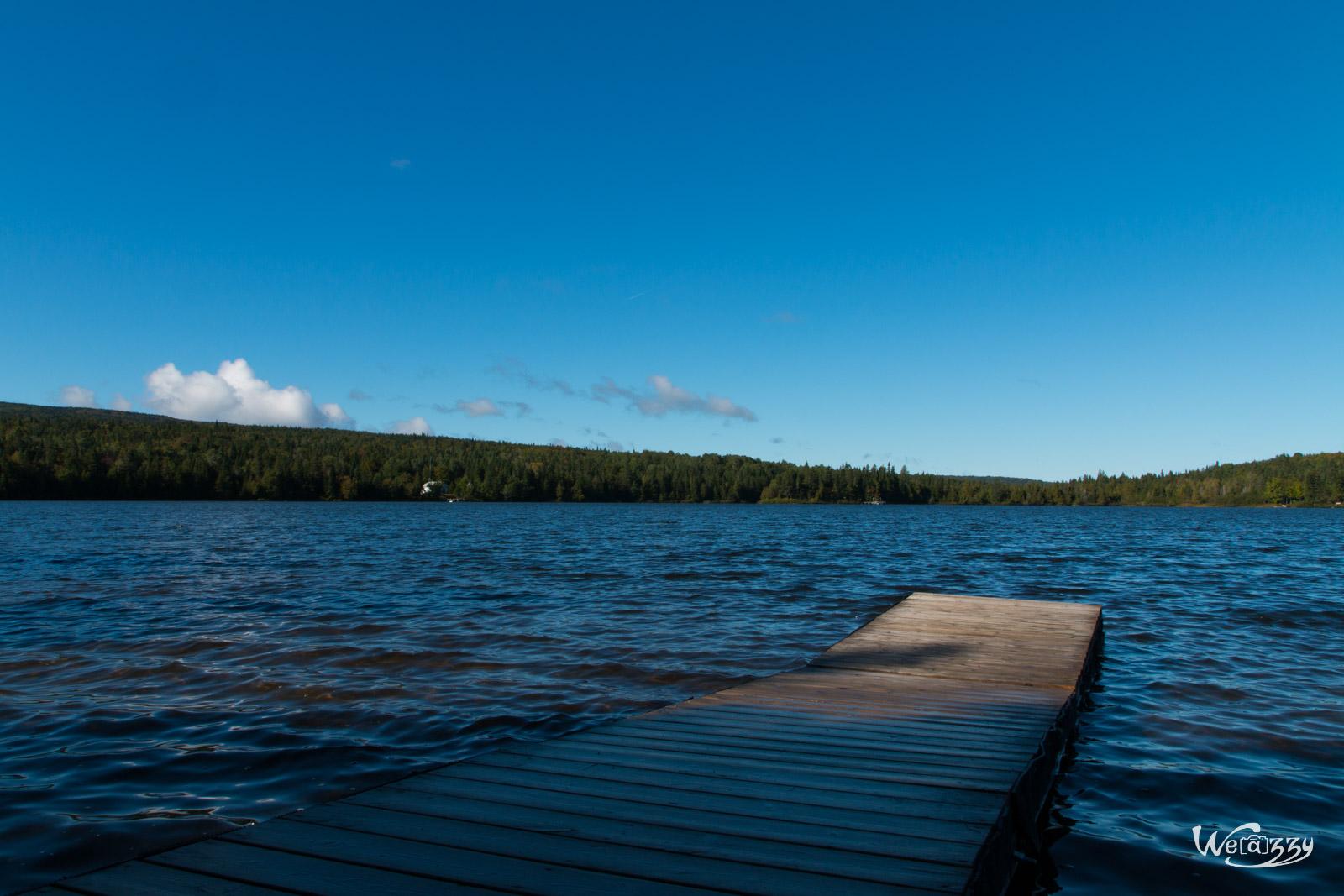 Appalaches, Canada, Lac Carre, Québec