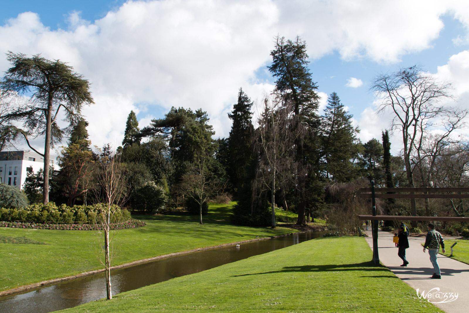 Jardin, Nantes, Printemps