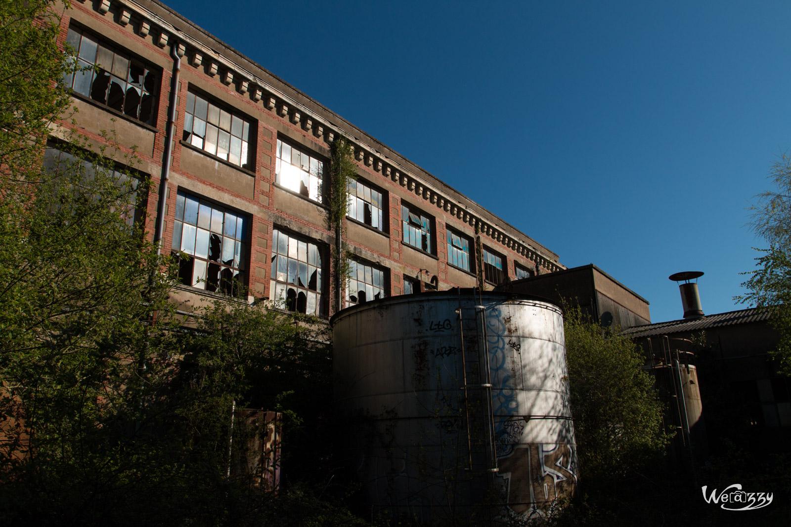 Une usine désaffectée, pas si abandonnée – 1ère partie