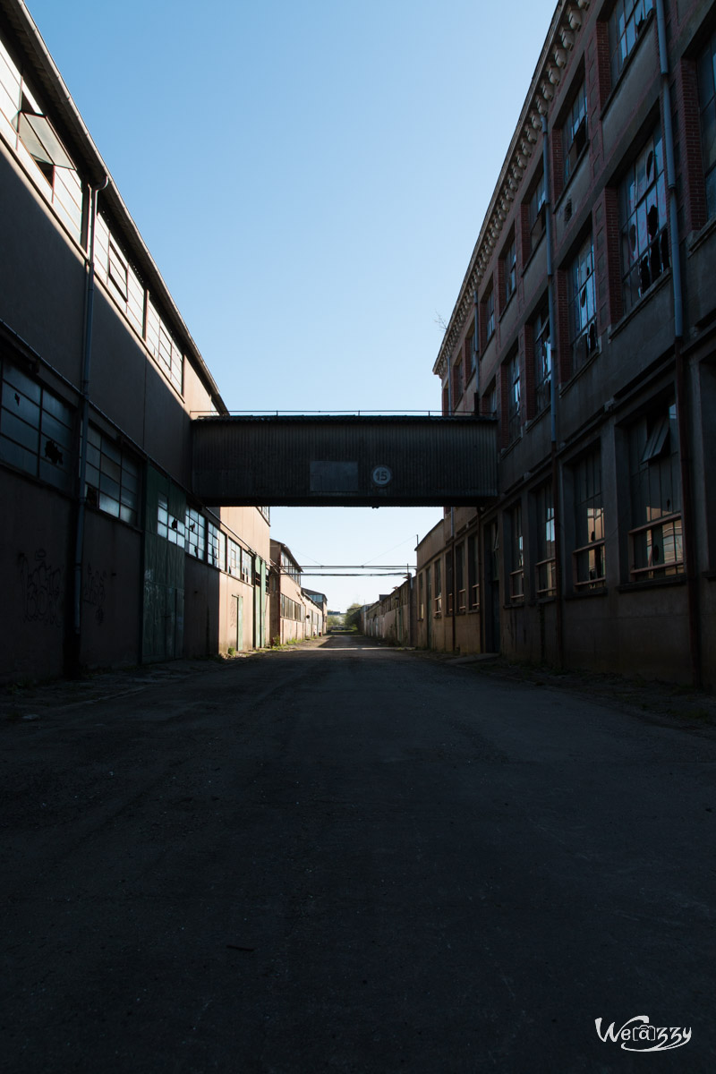 Urbex, abandonnee, usine