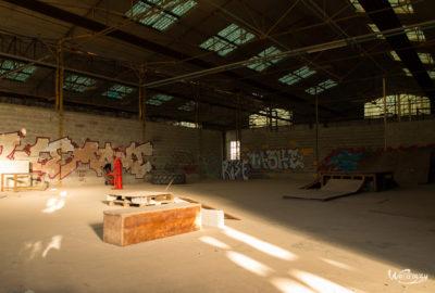 Exploration Urbaine, Nantes, Urbex, graffitis, urbex, usine