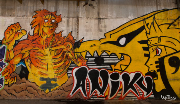 Urbex, abandonnee, graffitis, usine