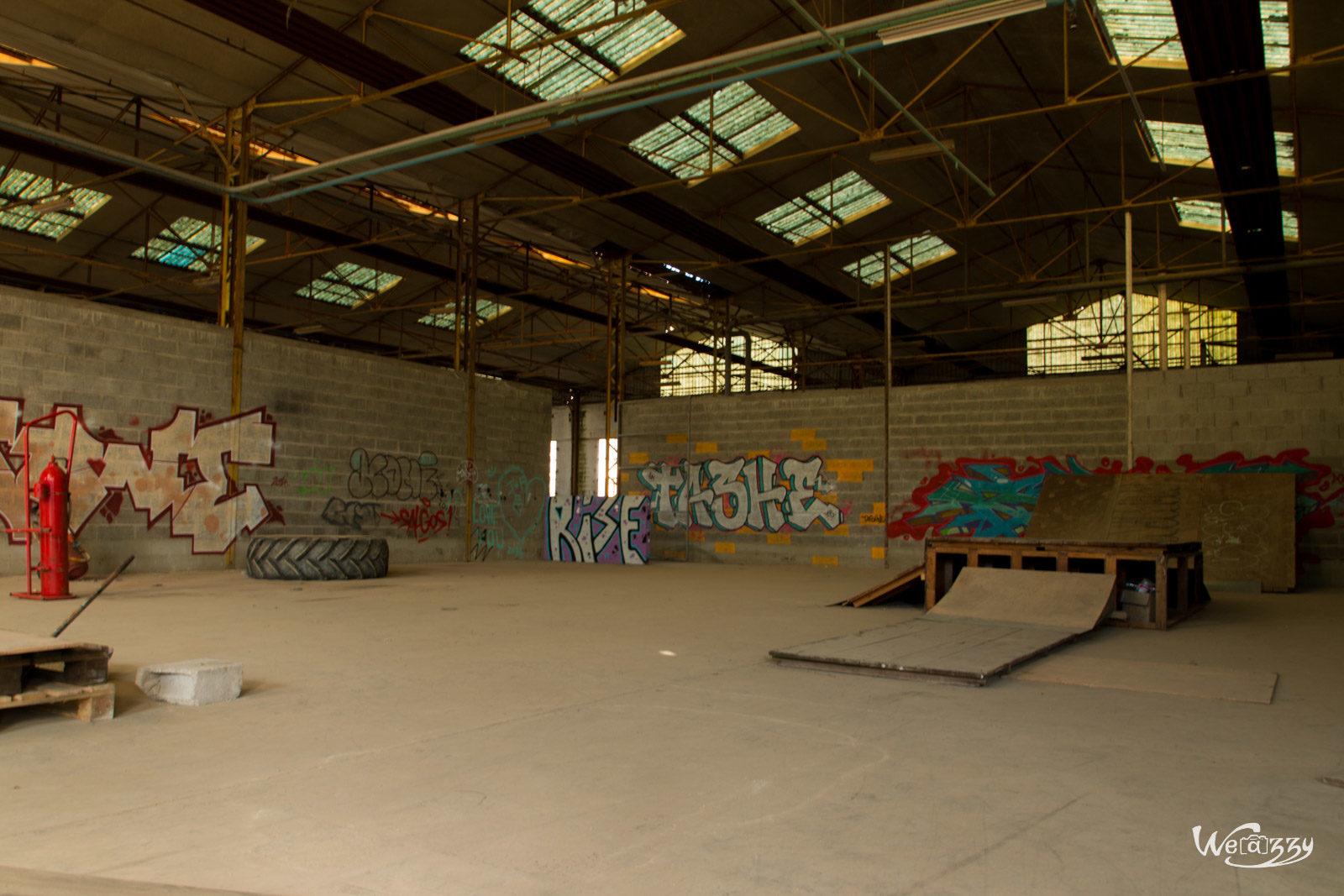Abandonné, Nantes, Urbex, Usine
