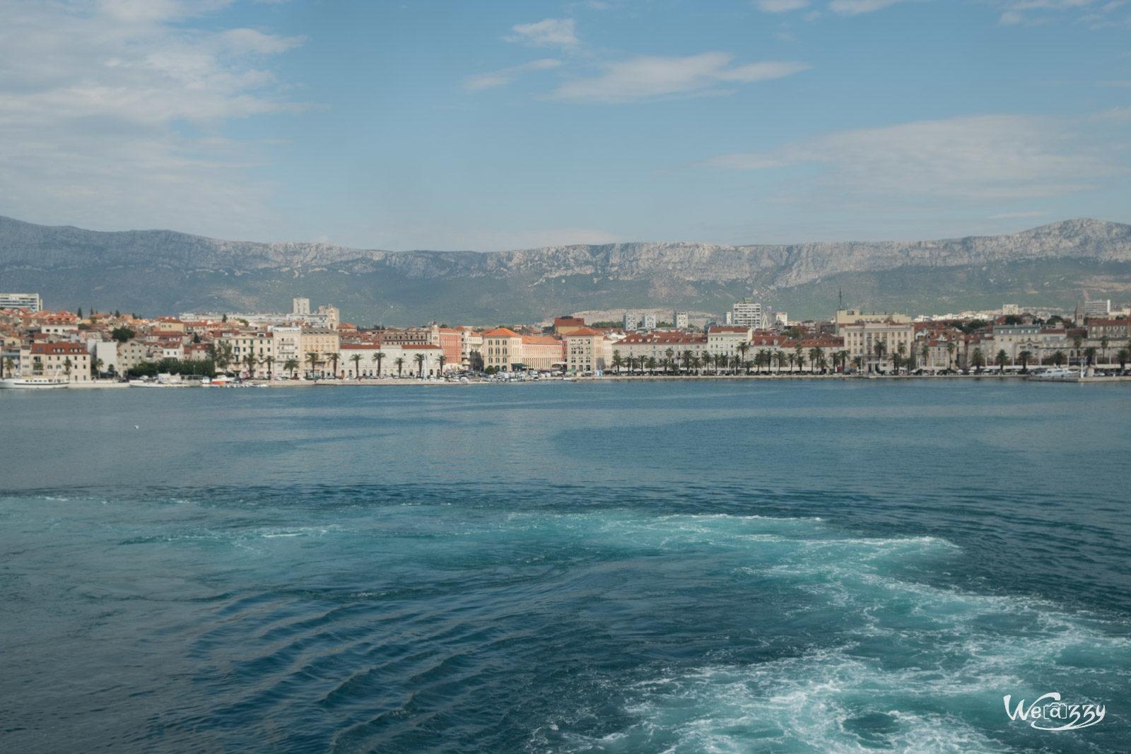 Croatie, Korcula, Voyage