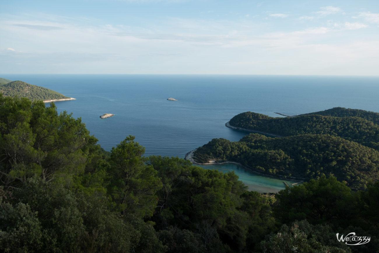 Croatie, Ile, Mljet, Voyage