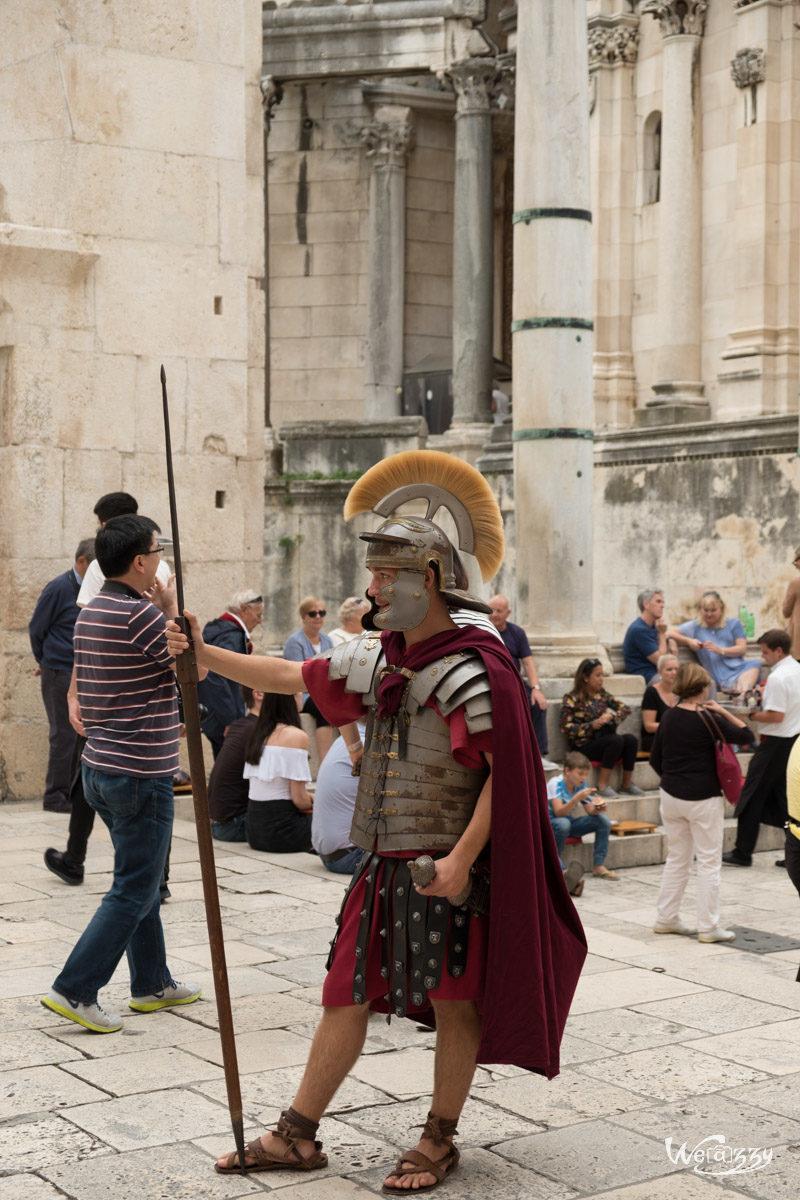 Croatie, Split, Voyage