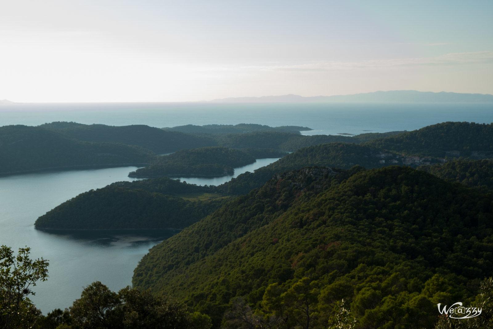 Croatie, Ile, Island, Mljet, Voyage