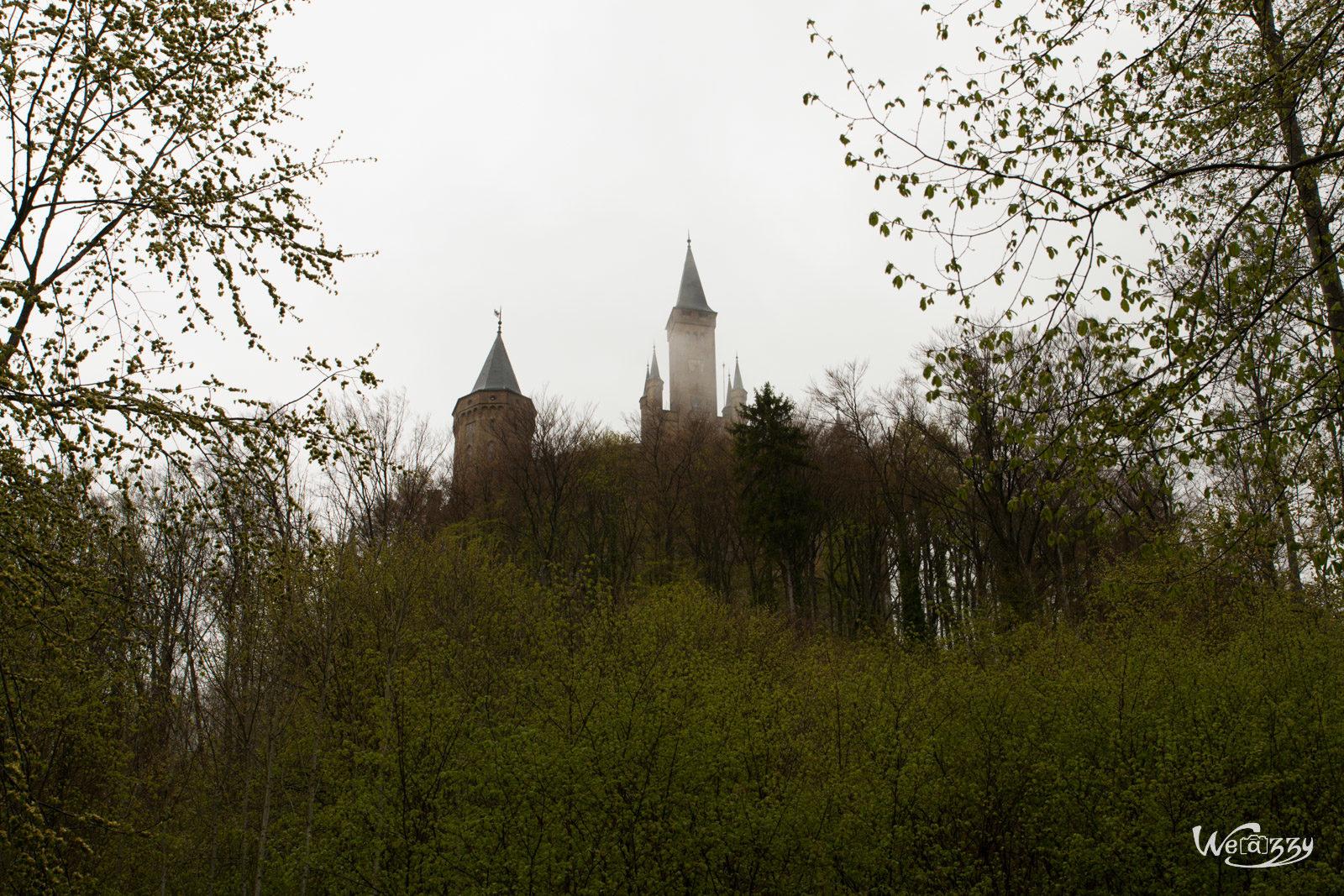 Château, Hohenzollern, Ville