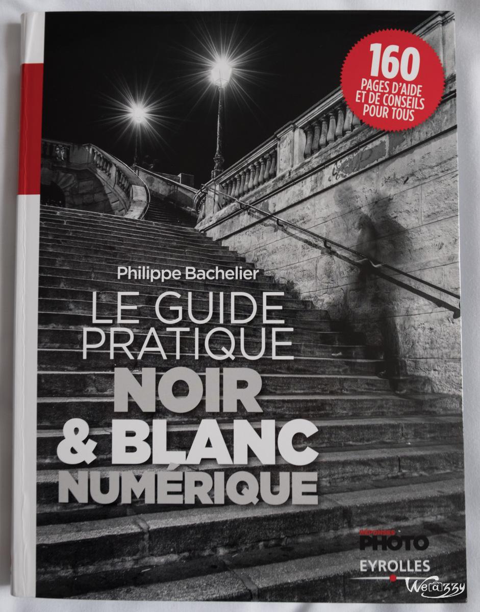 guide, livre, n&b