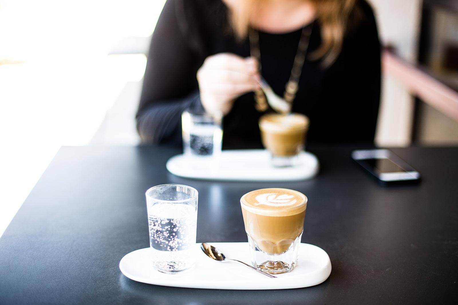 billet, café