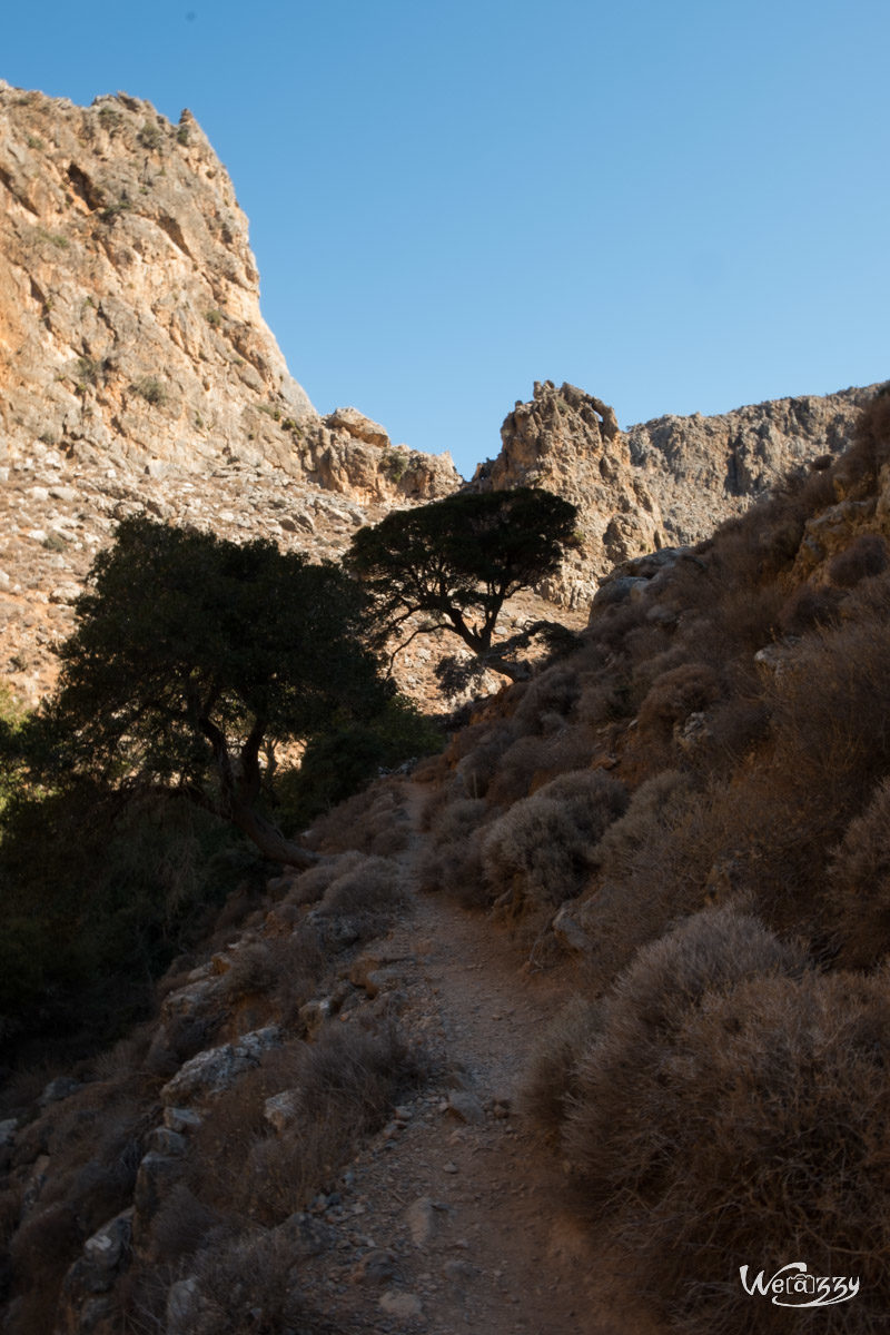 Crète, Deads Gorge, Montagne, Voyage