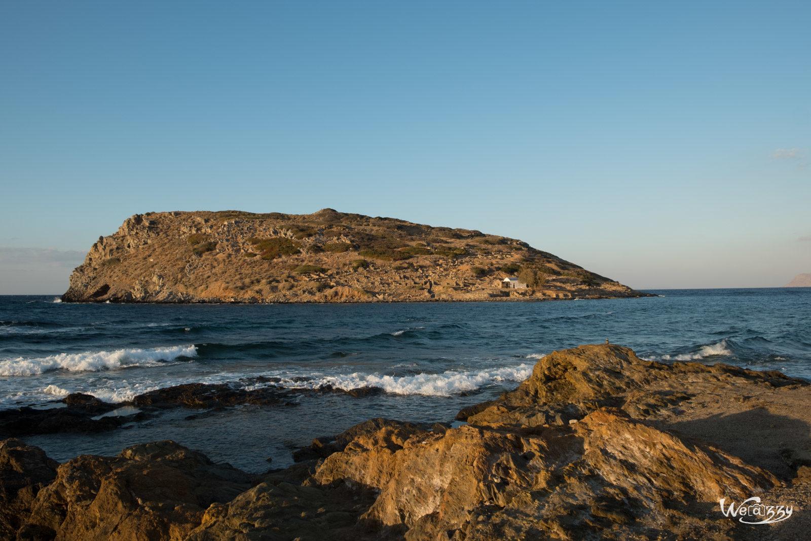 Crète, Mochlos, Voyage