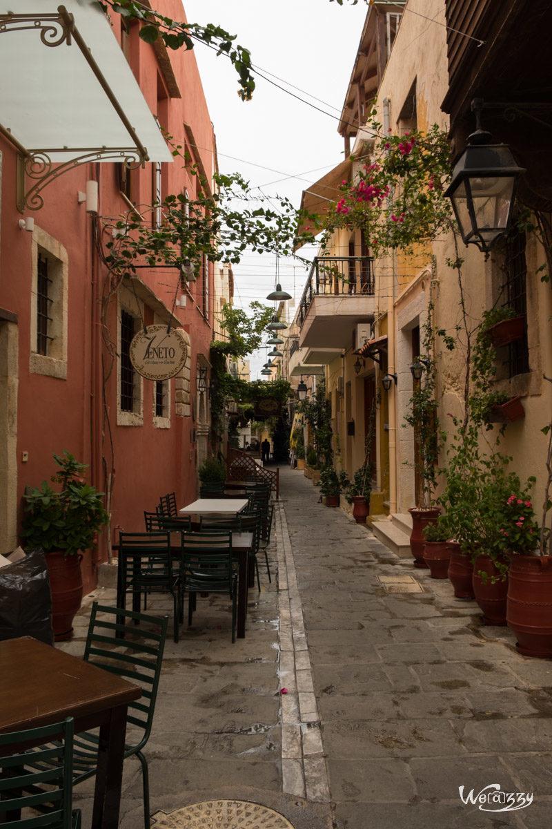 Crète, Rethymnon, Voyage