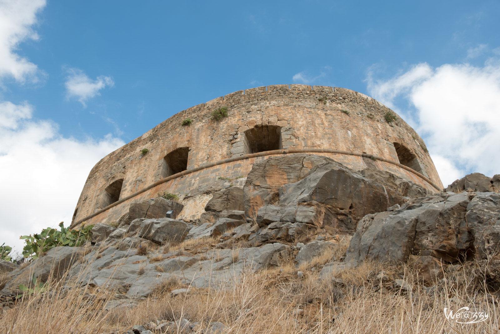 Crète, Ile, Spinalonga Island, Voyage