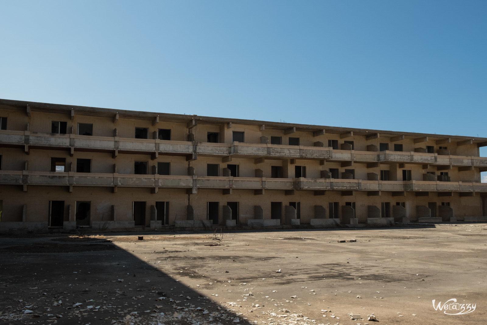 Abandonné, Crète, Hôtel, Urbex