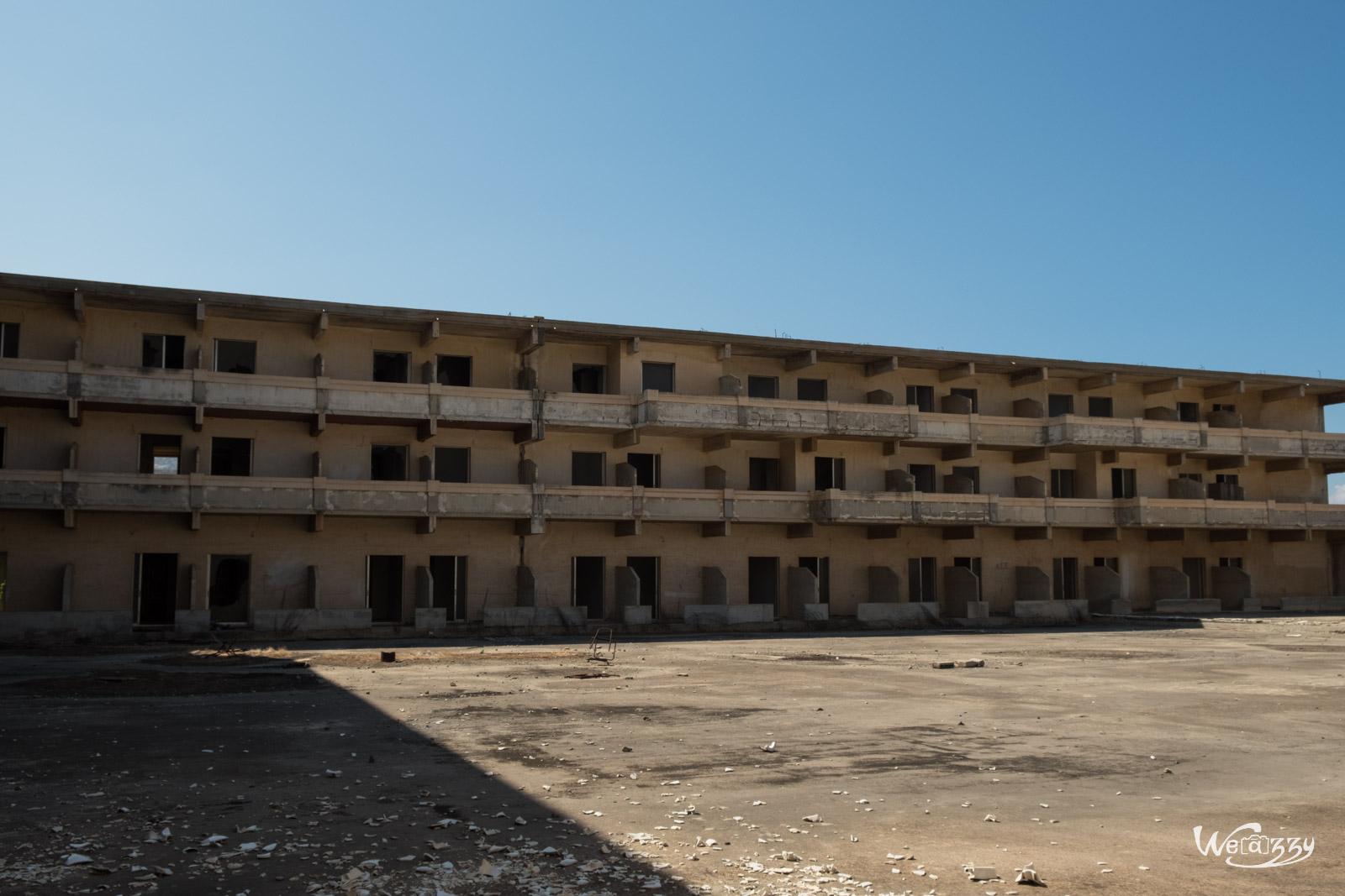 Urbex, hotel