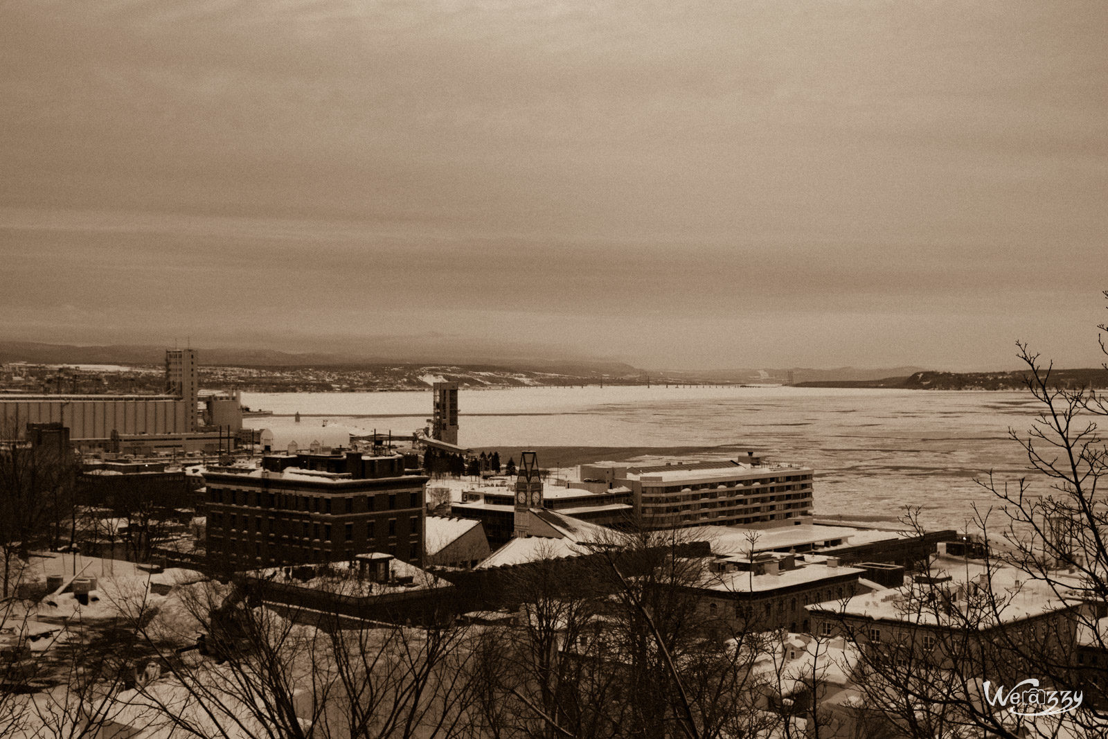 Canada, Hiver, Québec, Saint-Laurent, Voyage