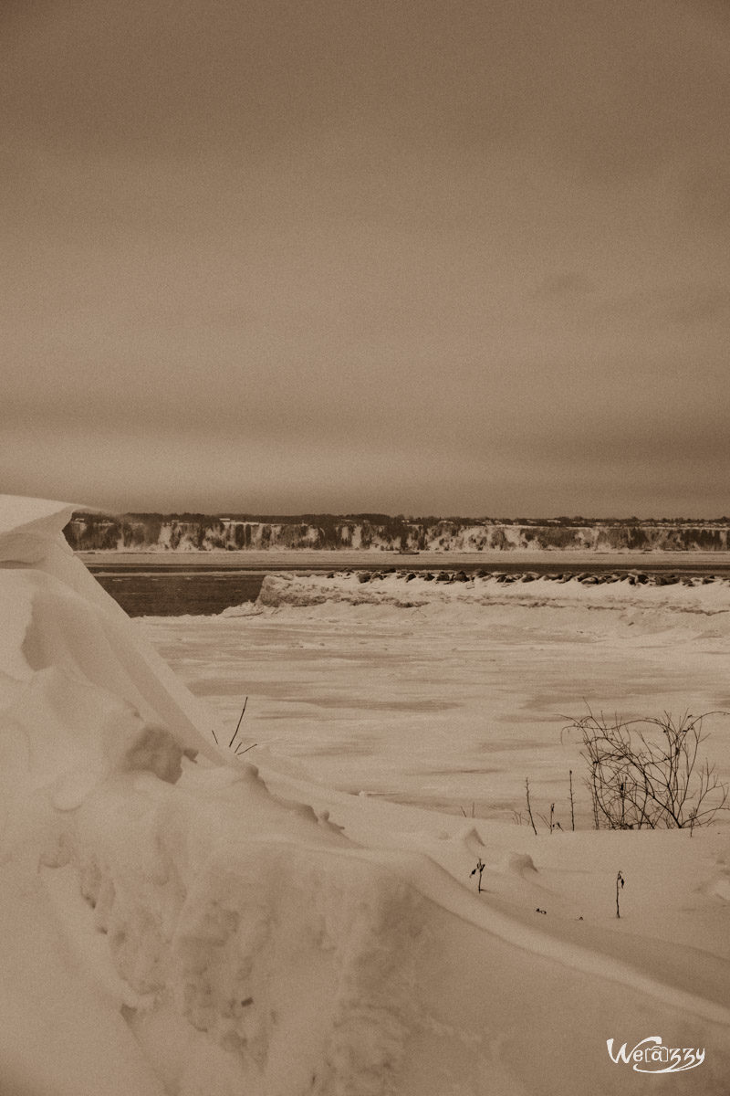 Canada, Québec, Saint-Laurent, hiver