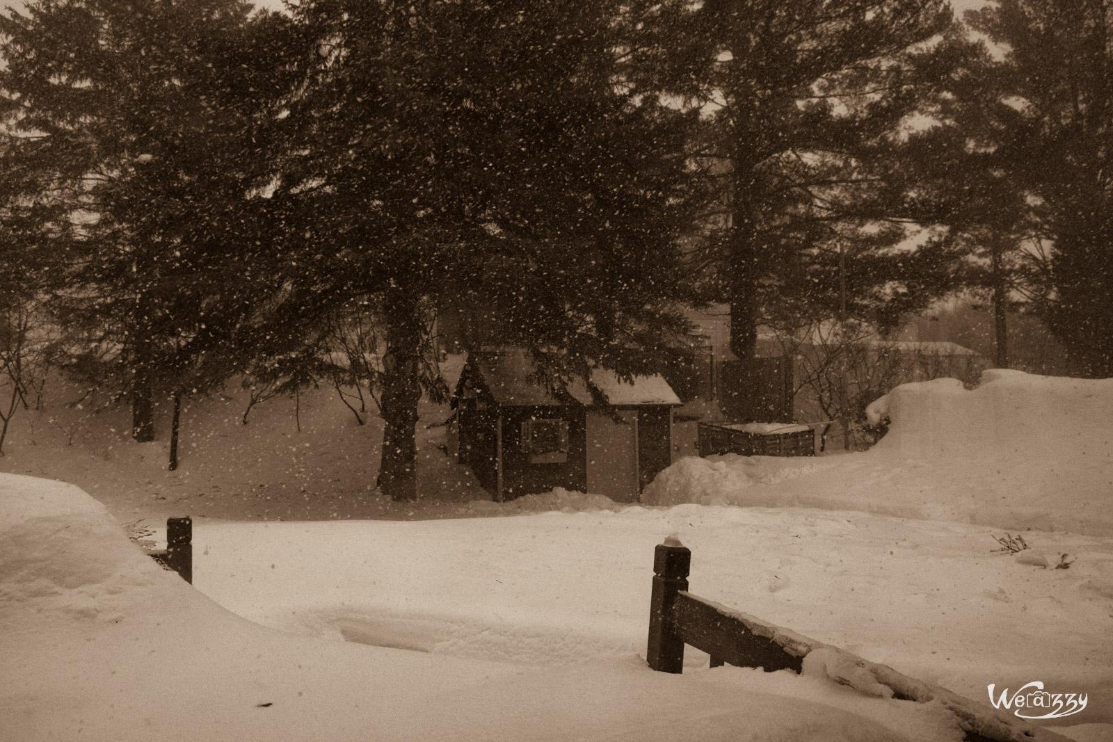Je vois enfin le Québec en hiver – Sous la neige