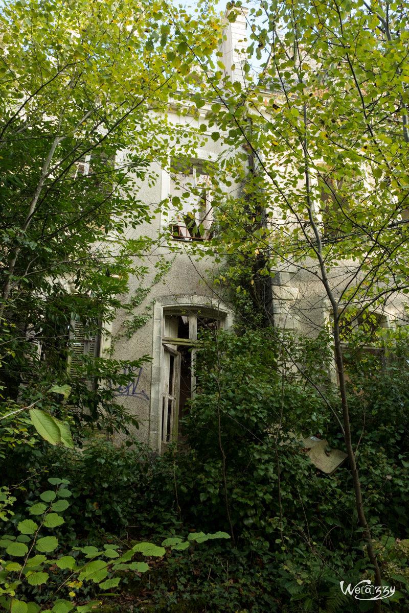 Abandonné, Manoir, Nantes, Urbex