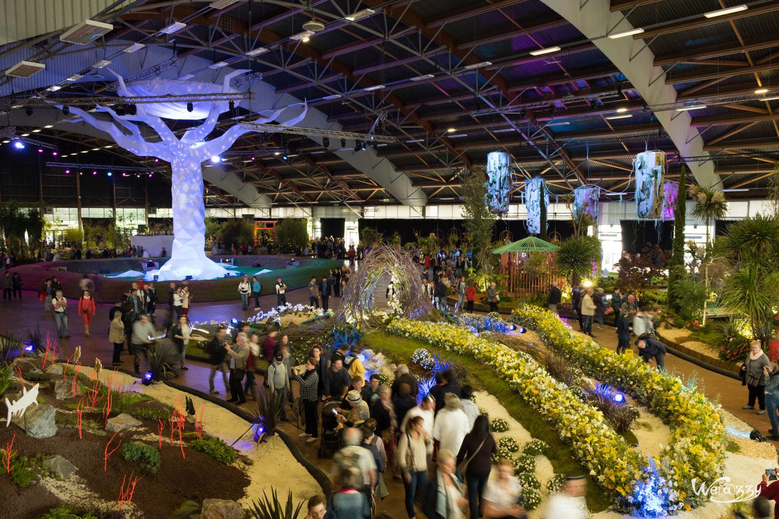 Exposition, Floralies, Nantes, Ville
