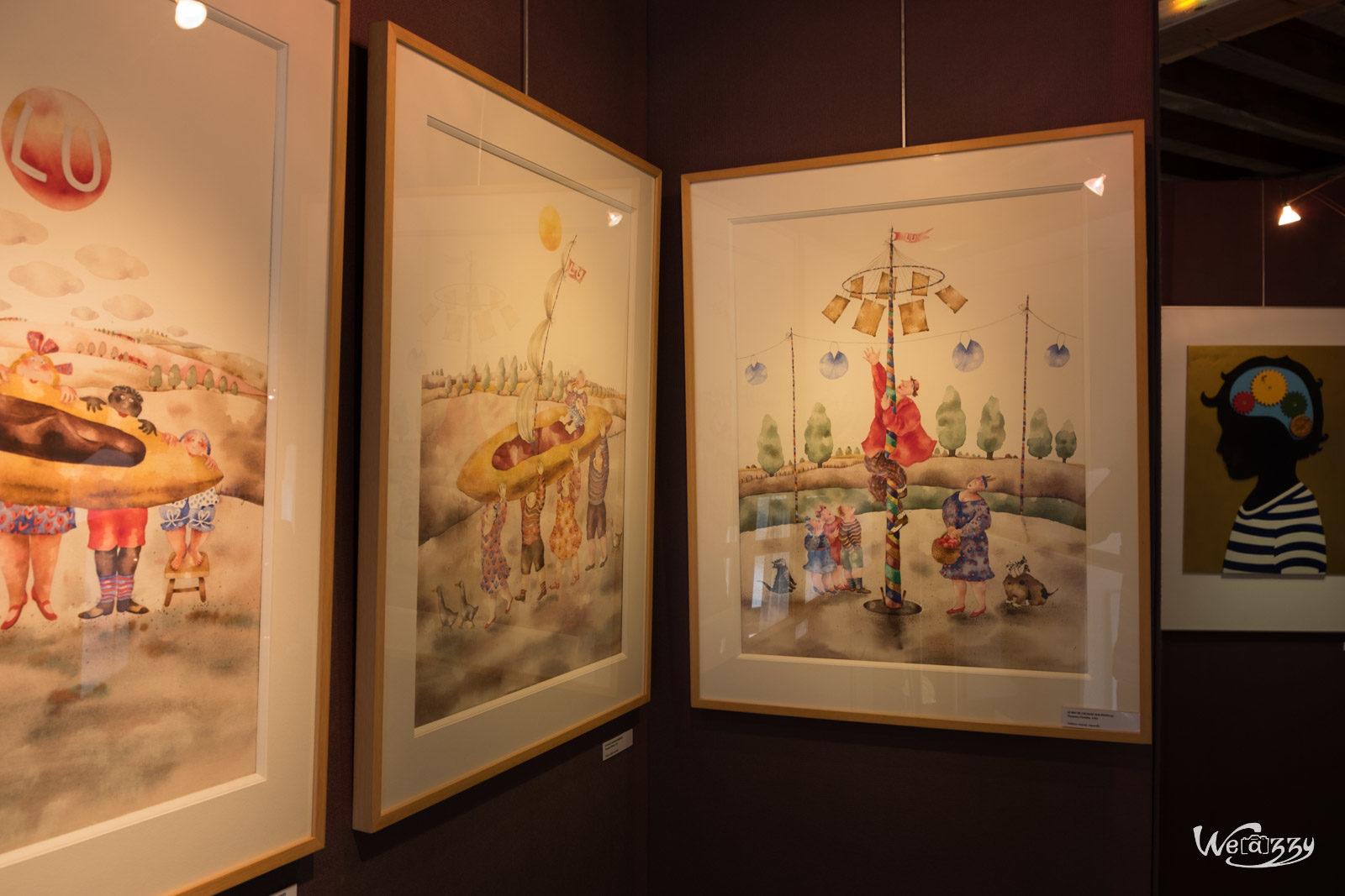 Exposition, Goulaine, Musée Lu, Nantes, Ville