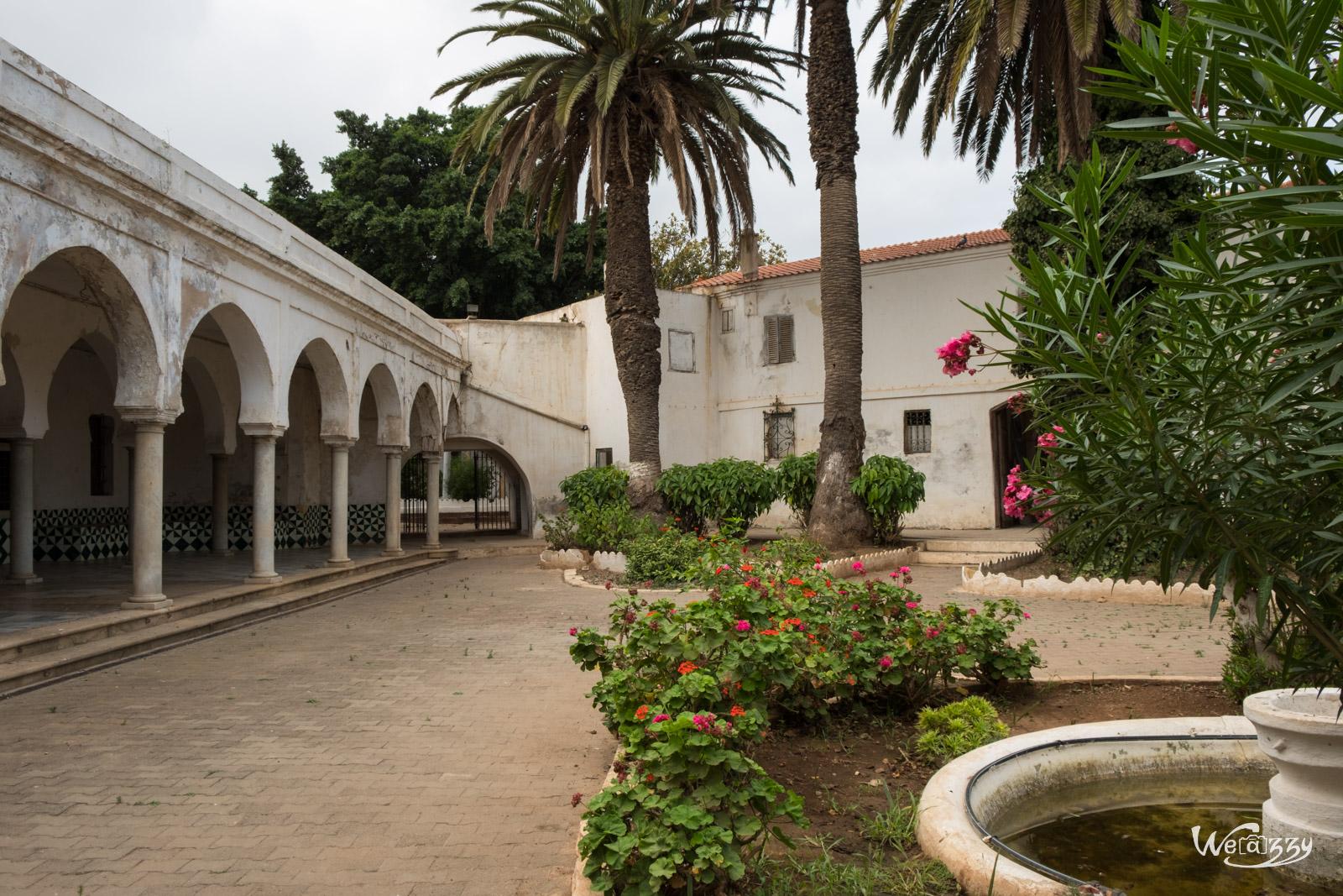 Algérie, Oran, Palais du Bey, Voyage